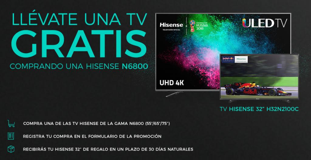 Promo TV gratis Hisense
