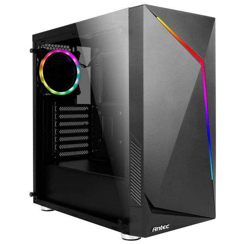 Caja ATX Antec NX300 ARGB Cristal Templado USB 3.0 Negra