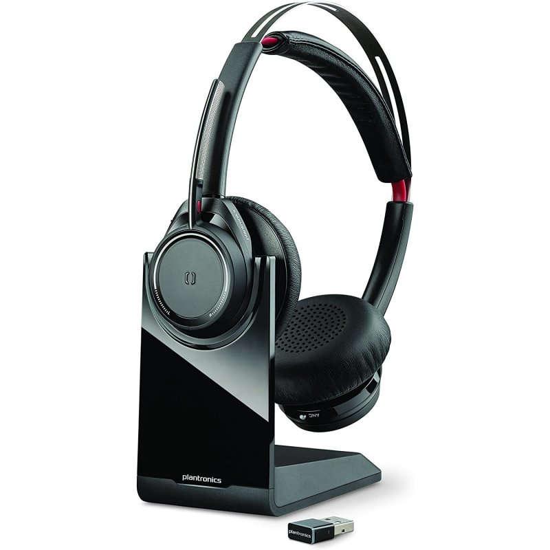 Auriculares Bluetooth con Base Plantronics Voyager Focus UC