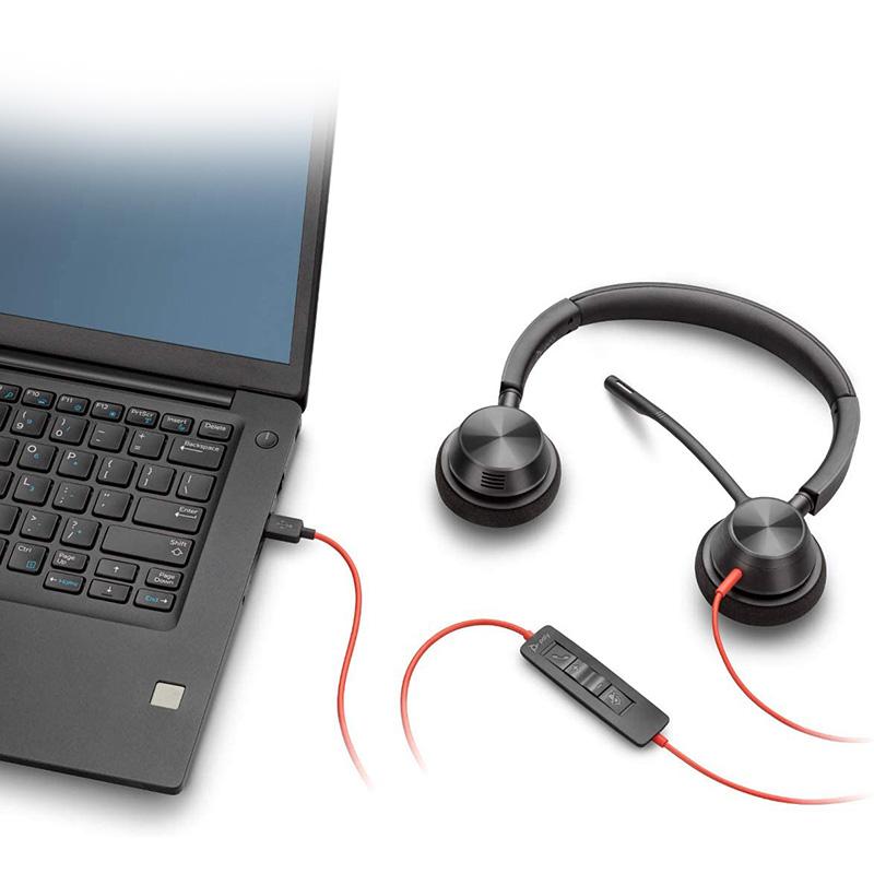 Auriculares USB Plantronics Poly Blackwire C3320