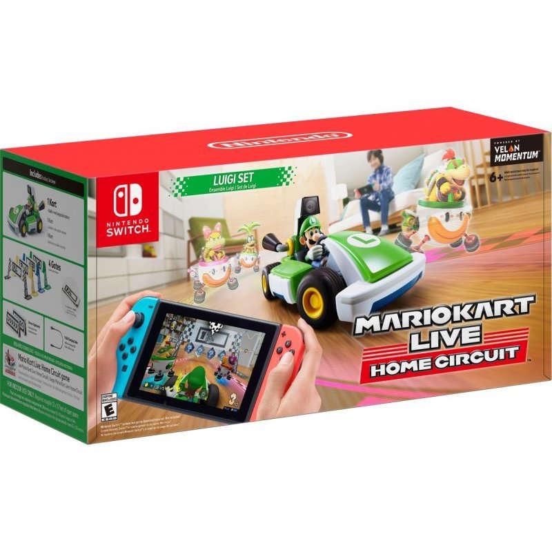 Nintendo Switch Juego Mario Kart Live: Home Circuit Edición Luigi