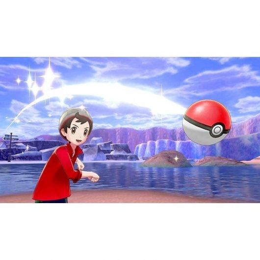 Nintendo Switch Juego Pokémon Espada + Pase de Expansión