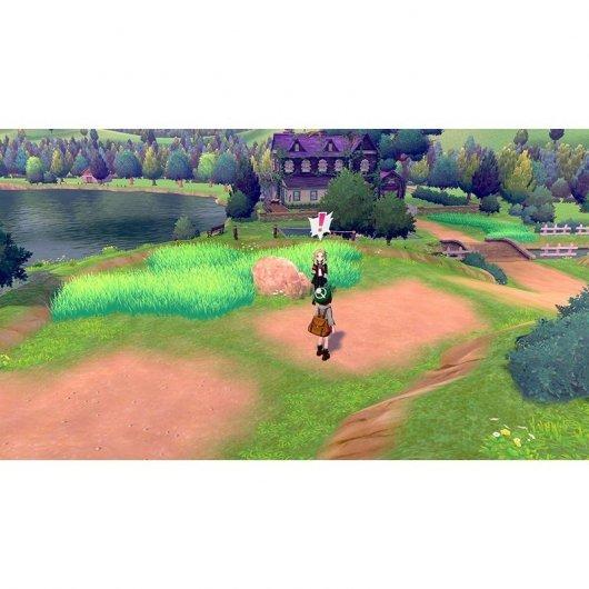 Nintendo Switch Juego Pokémon Escudo + Pase de Expansión