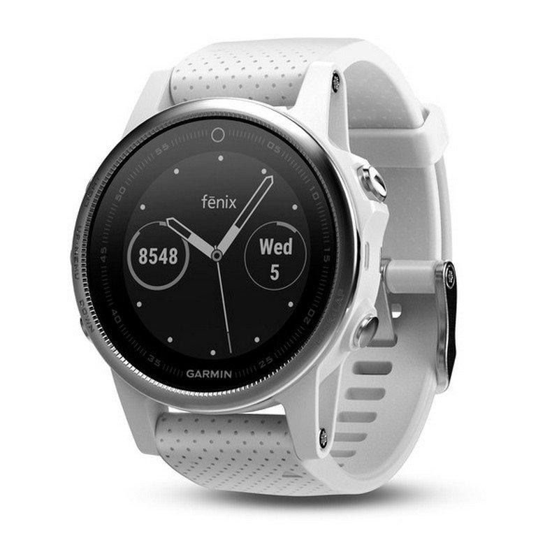 Smartwatch Garmin Fénix 5S Blanco con Correa Blanca