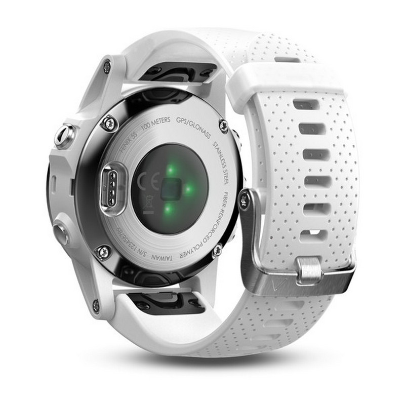 Smartwatch Garmin Fénix 5S Blanco con Correa Blanca -Modelo de Exposición
