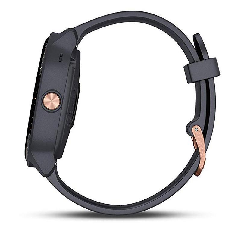 Smartwatch Garmin Vivoactive 3 Music Granito / Rosa
