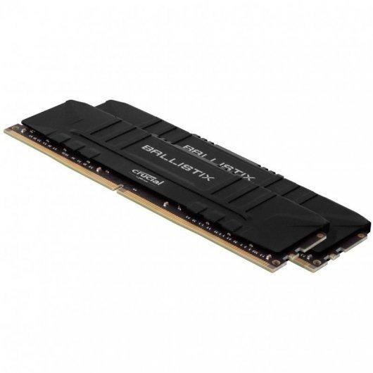 Memoria RAM Crucial Ballistix 3200 DDR4 32GB (2x16GB) CL16 Negro