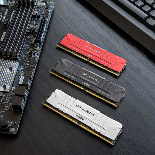 Memoria RAM Crucial Ballistix 32GB (2x16GB) DDR4-3600 CL16