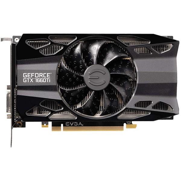 Tarjeta Gráfica EVGA GeForce GTX 1660 Ti XC Black 6GB GDDR6