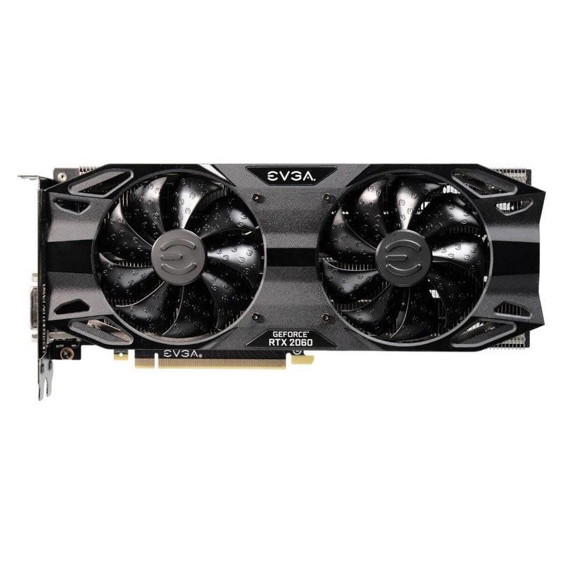 Tarjeta Gráfica EVGA GeForce RTX 2060 XC Ultra Black 6GB GDDR6