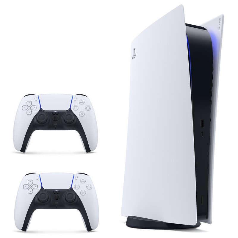 Sony PlayStation 5 Edición Digital + DualSense