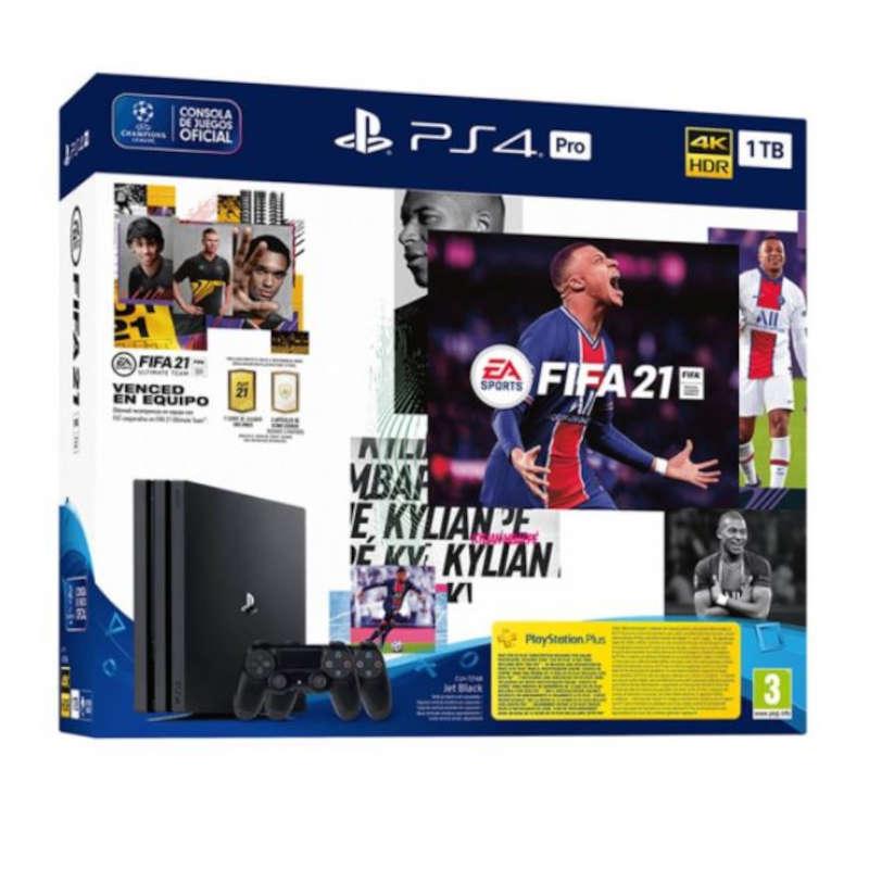 Sony PS4 Pro 1TB + FIFA 21 + DualShock 4