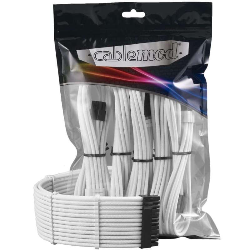 Kit de cables Cablemod PRO ModMesh Blanco