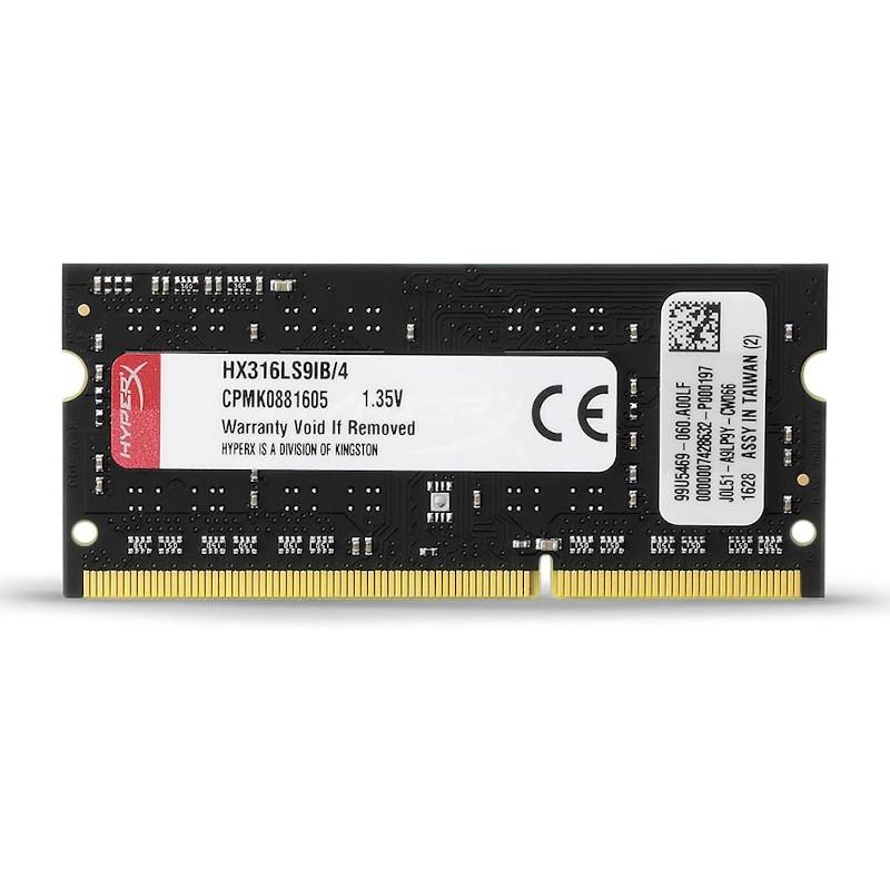 Memoria RAM HyperX HX316LS9IB 4GB DDR3-1600 SO-DIMM