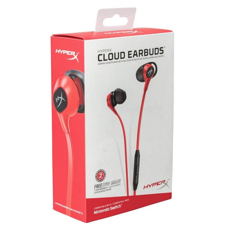 Auriculares Gaming HyperX Cloud Earbuds