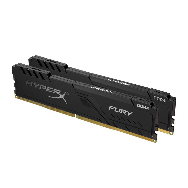 Memoria RAM Kingston HyperX Fury Black 8GB (2x4GB) DDR4 3200Mhz PC-25600 CL16