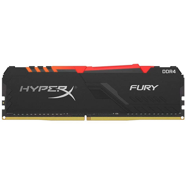 Memoria Kingston HyperX Fury RGB 8GB DDR4 3000MHz