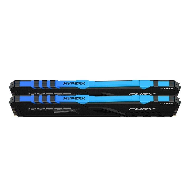 Memoria Kingston HyperX Fury RGB 32GB (2x16GB) DDR4 3600MHz