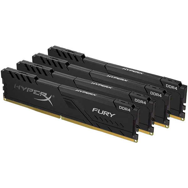 Memoria Kingston Fury Black 128GB DDR4 3200MHz (4x32GB)