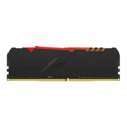 Memoria RAM Kingston HyperX Fury RGB DDR4 16GB 3200MHz CL16