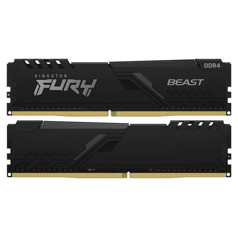 Memoria Kingston Fury Beast 16GB (2x8GB) DDR4 3200MHz CL16
