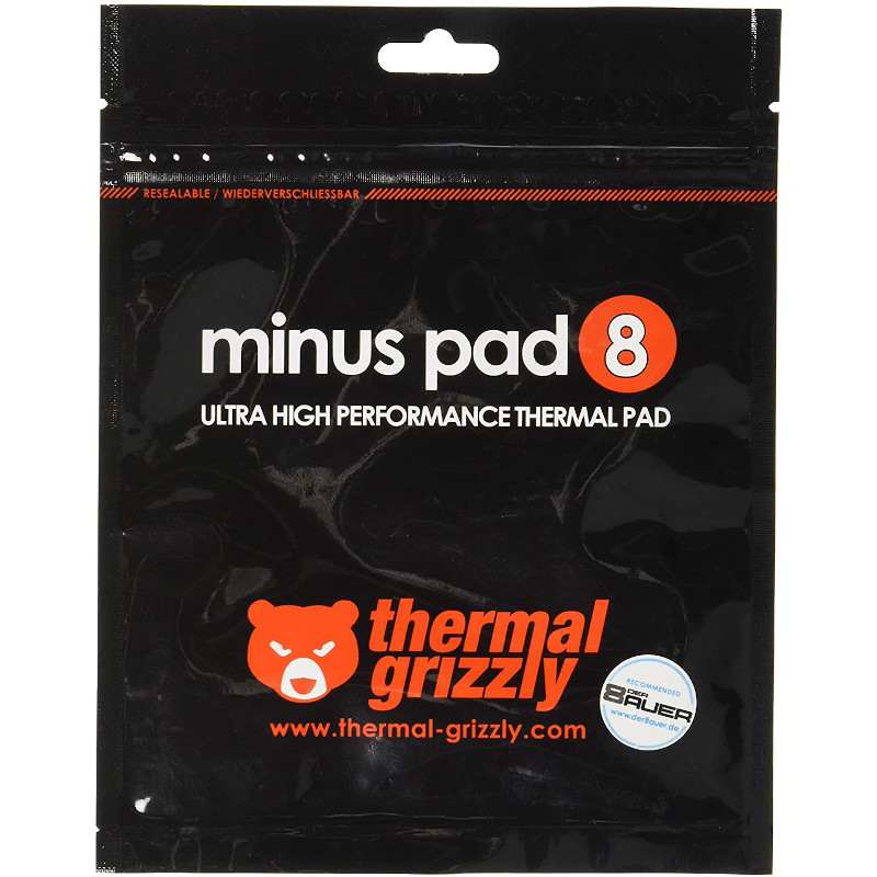 Kit 2 unidades Pad térmico Thermal Grizzly Minus Pad 120x20mm