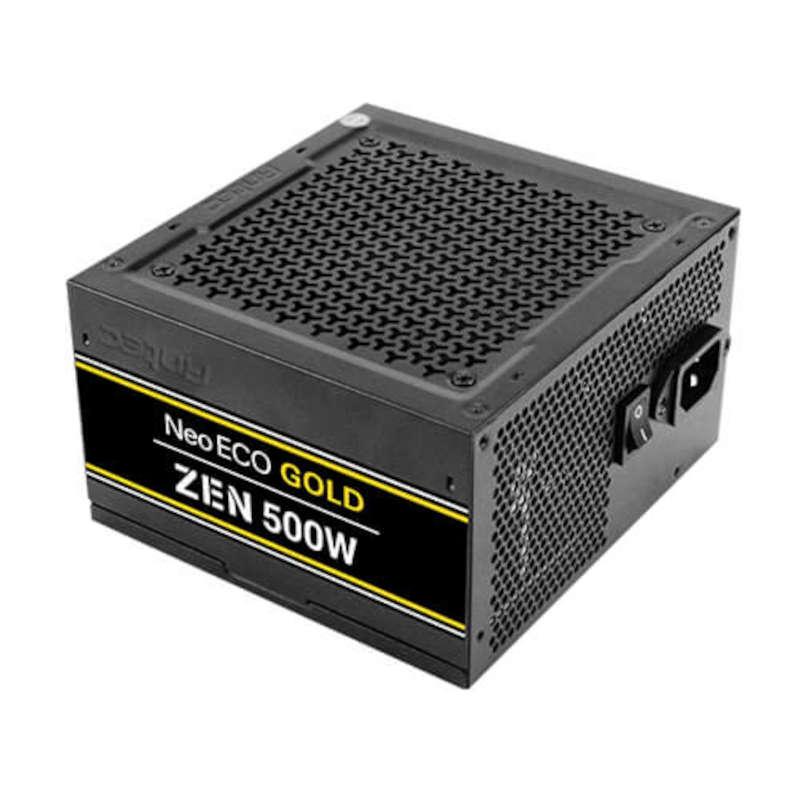 Fuente de Alimentación Antec NeoECO NE500G ZEN EC 500W 80 Plus Gold
