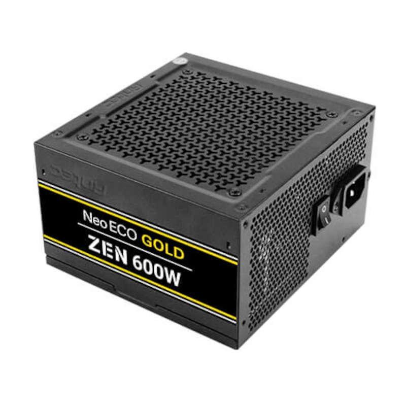 Fuente de Alimentación Antec NeoECO NE600G ZEN EC 600W 80 Plus Gold