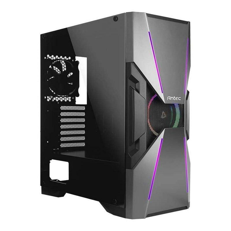 Caja PC Antec Dark Avenger DA601 ATX ARGB Cristal Templado USB 3.0 Negra