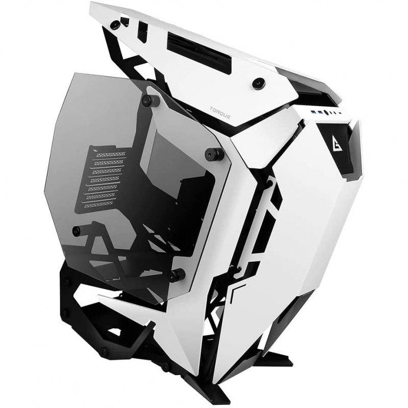 Caja PC Antec Torque Open Frame Cristal Templado E-ATX USB-C 3.1 Negra/Blanca