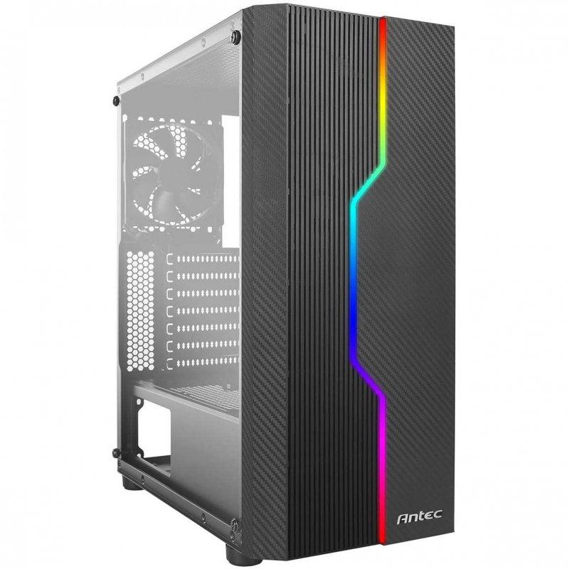 Caja PC Antec NX230 ATX RGB USB 3.0 con Ventana Negra