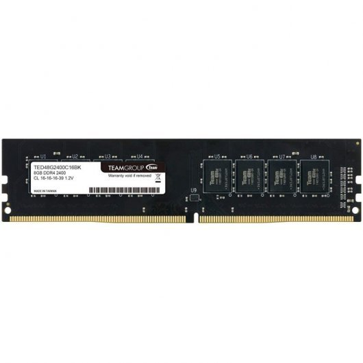 Memoria RAM TeamGroup TED48G2400C1601 8GB DDR4 2400Mhz CL16