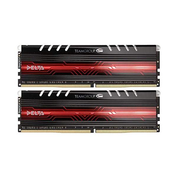 Memoria RAM Team Group Delta Series LED 32GB (2x16GB) DDR4-2400 CL15