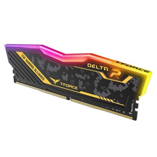 Memoria RAM Team Group Delta TUF Gaming DDR4 16GB (2X8GB) 3200MHz CL16
