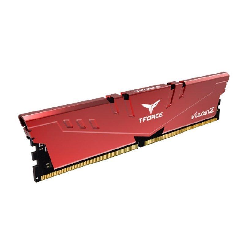Memoria Team Group T-Force Vulcan Z 32GB DDR4 3200MHz CL16 Rojo (2x16GB)