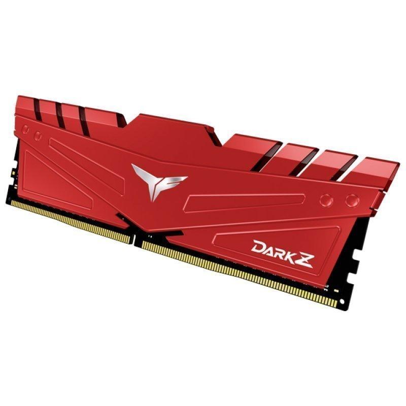 Memoria RAM Team Group T-Force Dark Z 32GB (2x16GB) DDR4 3200MHz CL16 Rojo