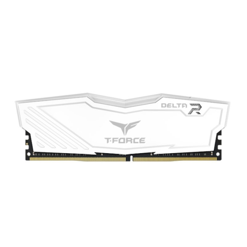 Kit Memoria Team Group Delta White RGB 16GB DDR4 3200MHz CL16 (2x8GB)