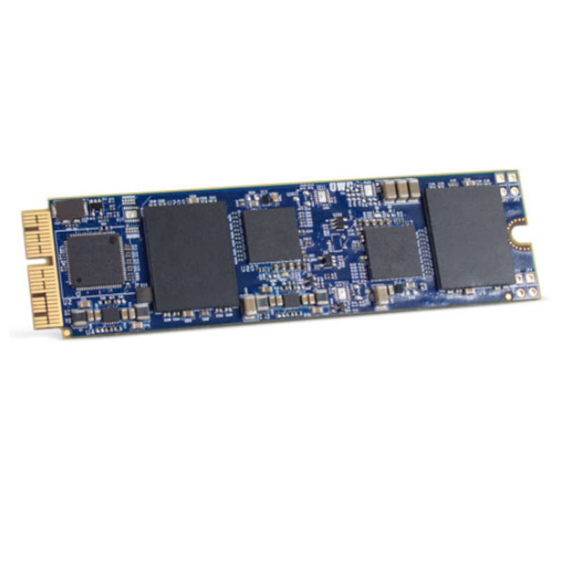 Disco Duro SSD 480GB OWC Aura Pro X2 M.2 PCIe Gen3 x4 NVMe para MacBook Pro