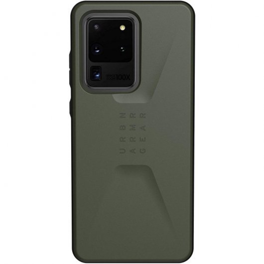Funda UAG Civilian para Samsung Galaxy S20 Ultra Verde Oliva