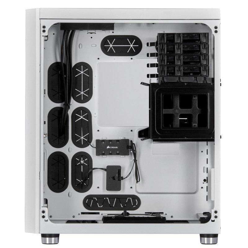 Caja PC Corsair Crystal 680X RGB Cristal Templado USB 30 e-ATX Blanca