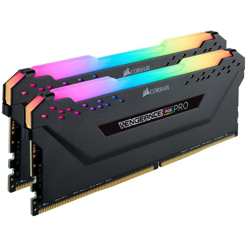 Kit Memoria Corsair Vengeance RGB Pro 32GB DDR4 3200MHz (2x16GB)