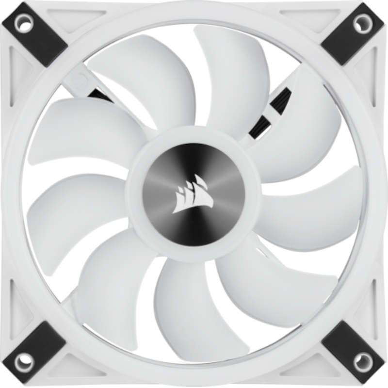 Ventilador Corsair iCUE QL140 RGB PWM Dual 140mm (2 unidades) Blanco