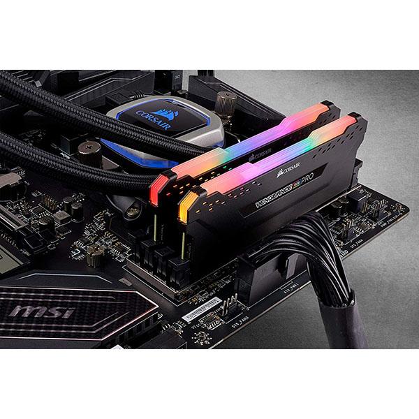 Memoria RAM Corsair Vengeance RGB Pro 64GB (2x32GB) DDR4-3000 CL16