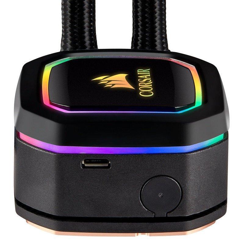 Refrigeración Líquida Corsair iCUE H60i RGB PRO XT