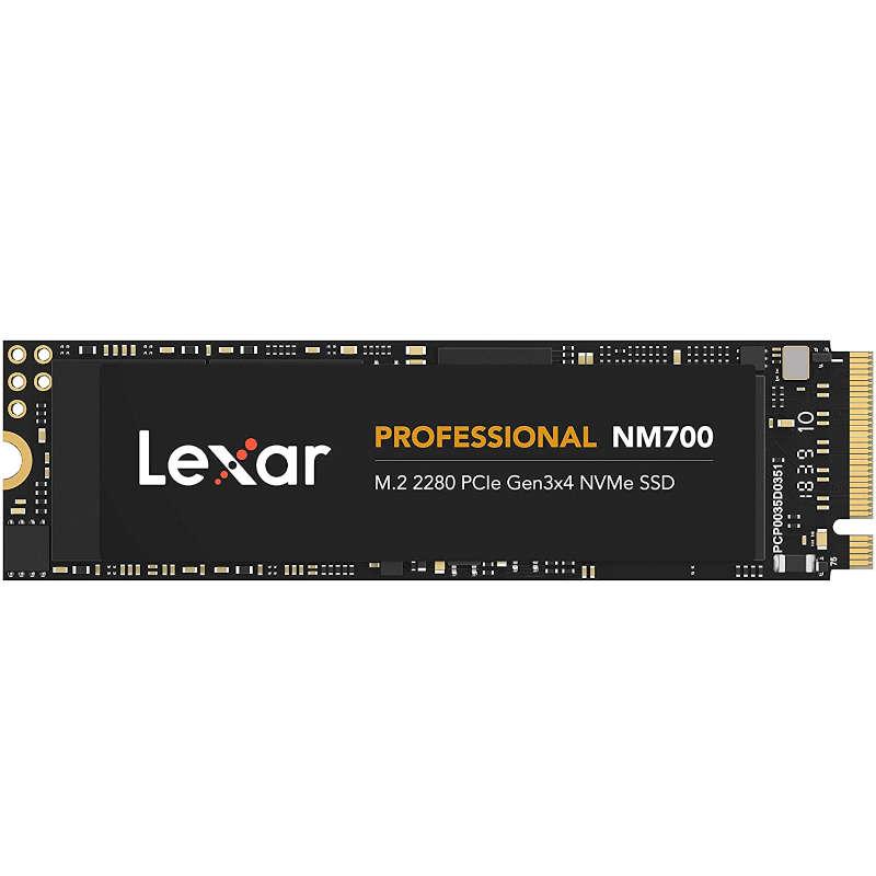 Disco Duro SSD 1TB Lexar Professional NM700 PCIe Gen3x4 NVMe