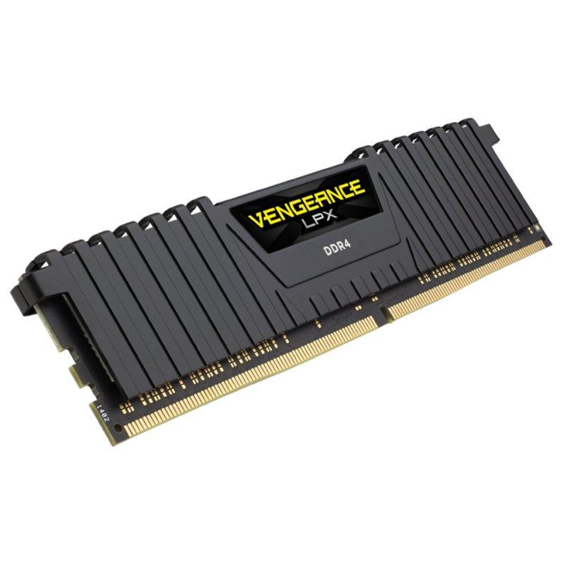 Memoria RAM Corsair RAM Vengeance LPX AMD 8GB DDR4 3200MHz CL16, Negro
