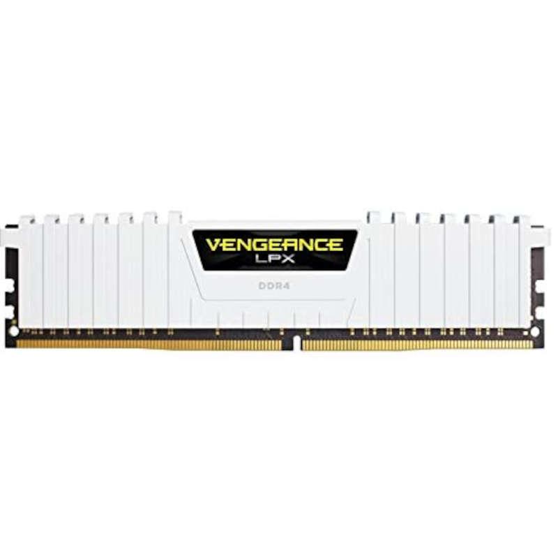 Memoria RAM Corsair Vengeance LPX 64GB (4x16GB) DDR4 2666MHz CL16, Blanco