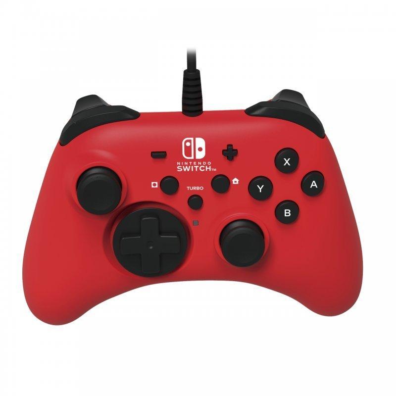 Nintendo Switch Mando Hori Horipad Rojo