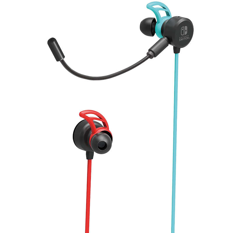 Auriculares Hori Gaming Earbuds Pro para Nintendo Switch