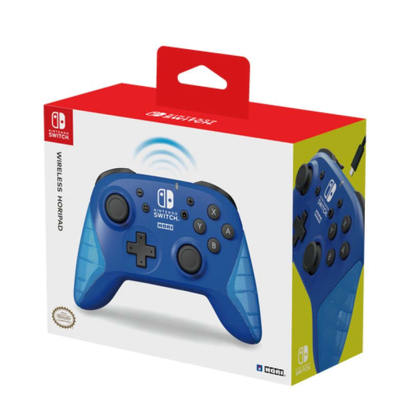 Nintendo Switch Mando Hori Wireless Azul